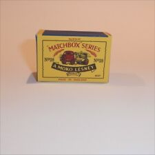 Matchbox Lesney 28 a Bedford Compressor Truck empty Repro B style Box