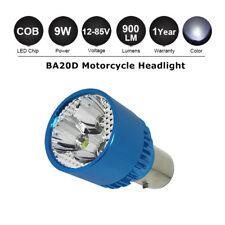 BA20D H6 COB 9-85V Bright LED Hi/Lo Motorcycle Moped Headlight Light Bulb White