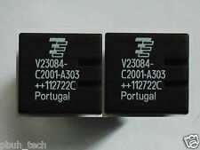 2 Pcs BMW GM5 Central Locking Module Relays TYCO V23084 C2001 A303 Genuine New!!
