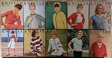 Knittax Magazin 1961-1965 Modellhefte für Strickmaschine