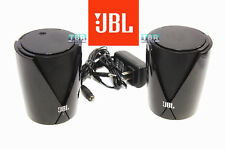 JBL Speakers Jembe Powerful Computer TV Home Desktop Entertainment BLACK 2 pcs