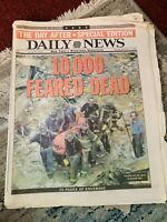 New York Daily News Newspaper Sep13,2001 **THE DAY AFTER** SPECIAL EDITION