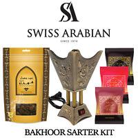 Middle Eastern Bakhoor/Incense Starter Kit from Swiss Arabian (Ships from USA)