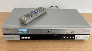 Panasonic VCR NV-HV60 VHS Video Player PAL NTSC Hi-Fi Stereo 6 Head Remote