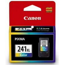 Brand New Sealed Genuine Canon 241 XL Color Ink Cartridges MG2120 MG3120 MG4120