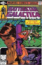 Battlestar Galactica Comic Book #22, Marvel Comics 1980 Very Fine/Near Mint