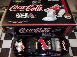 Dale Earnhardt Jr #1 Coca-Cola Polar Bear 1998 Monte Carlo Revell 1:18   NASCAR
