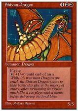 MRM FRENCH Dragon shivan - Shivan Dragon MTG magic 4th Edition