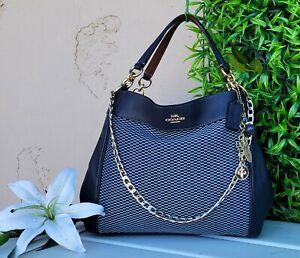 COACH 25427 custom legacy Lexy leather Shoulder hobo grab bag purse handbag tote