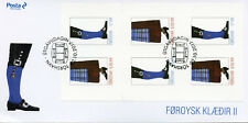 Faroes Faroe Islands 2017 FDC Faroese National Costumes II 6v S/A Cover Stamps