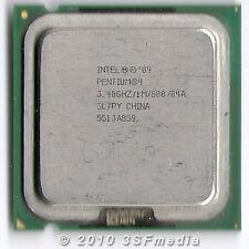 Cpu Processore Intel Pentium 4 P4 550J - 3.4/1M/800 - SL7PY Socket 775