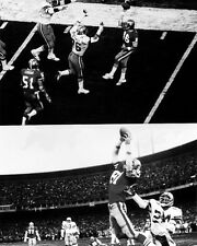 San Francisco 49ers JOE MONTANA & DWIGHT CLARK Glossy 8x10 Photo The Catch Print