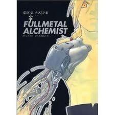 FULLMETAL ALCHEMIST ARTBOOK 2004 HIROMU ARAKAWA ILLUSTRATIONS ANIME JAPAN