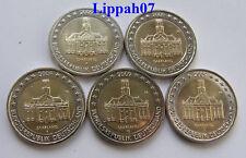 Duitsland speciale 2 euro 2009 Saarland A-D-F-G-J UNC