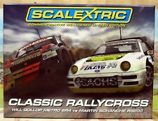 "SCALEXTRIC 1/32 C3267A ""CLASSIC RALLYCROSS"" TWO CAR PACK, LIMITED EDITION, NIB"