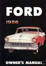 1956 FORD OWNER'S MANUAL-FULL SIZE