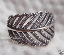 NEW Authentic PANDORA Silver LIGHT AS A FEATHER Clear CZ Ring Sz 9 190886CZ-60