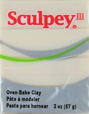 Sculpey III Polymer Clay - 010 Translucent color 2oz (NEW) Arts & Crafts