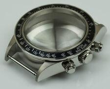 NUOVA in acciaio inox cassa lucidata generico Rolex Newman & ETA casi Lunetta