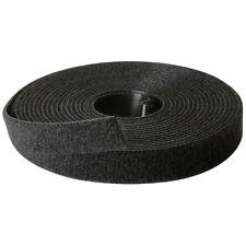 "Rip-Tie 1/2"" x 10 ft. Wrap Strap Black Roll W-10-1RL-BK"