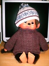 Kleidung für Monchhichi, Winter, 2-teilig, Gr. ca 45,0 cm, neu, Handarbeit