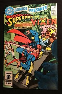 """DC Comics Presents Superman and Vixen #68 April 1984 """"Destiny's Children!"""" 9.0VF"""