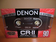 DENON CR-II 90 Audio Cassette - PHILIPS - PDM NEW/NEU ! made in Japan !!! MC !!!