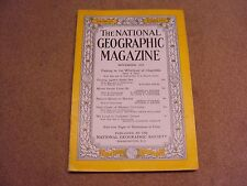 National Geographic November 1953  Fishing Japan Sea Mount Vernon Norway Coke Ad