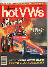 March 1987 Dune Buggies and Hot VWs Magazine