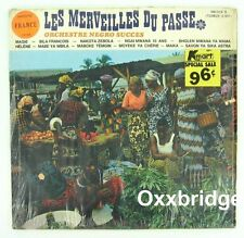 LES MERVEILLES DU PASSE Orchestre Negro Succes AFRICAN 1970 OK JAZZ LP Afro Funk