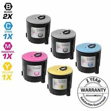 5 PK Toner Cartridge Set for Samsung CLP-300 Printer CLP300 CLP 300 CLX-3160FN