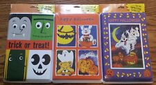 24 Count Halloween Greeting Card Lot WITH ENVELOPES 3 Different Varieties/Styles