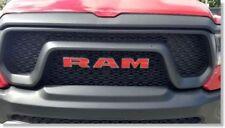 Ram Grille Emblem Overlay Decal Sticker for 2019 2020 2021 Ram Rebel
