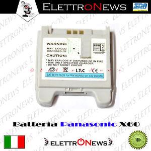 Batteria compatibile Lithium-ion 3.6 V Panasonic X60/X66  450mAh