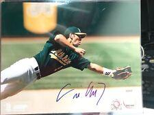 Eric Chavez Signed 8x10 Photo Oakland Athletics Tristar