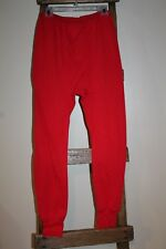 Vintage~WINTERSKINS~Sears~MENS STORE~Red LONG UNDERWEAR~Base Layer PANTS~M or L