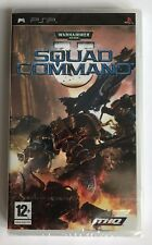 PSP Warhammer 40,000 Squad Command (2007), UK Pal, Brand New & Factory Sealed