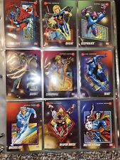 Impel 1992 Marvel Universe Series 3 III Complete 200 Base Trading Card Set NM/M