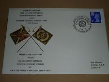 3rd VOLUNTEER BATTALION REGIMENT OF WALES FIRST DAY COVER 1973
