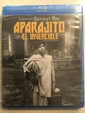 Aparajito - BLURAY Director Satyajit Ray MEXICAN IMPORT New Apu Trilogy