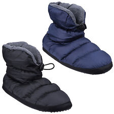 Cotswold Camping Draw String Tie Padded Mens Bootie Slippers