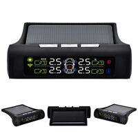 TPMS Kit Sistema Controllo Pressione Gomme Pneumatici Auto Moto 4 Sensori + LCD