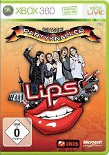 Lips Deutsche Partyknaller - XBox 360 Spiel - NEU & OVP - Deutsche Neuware