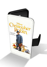 Christopher Robin Winnie-the-Pooh Wallet Leather Phone Case Cover
