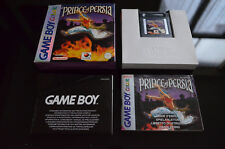 Prince of Persia complet sur Nintendo Gameboy Color - PAL FR TBE