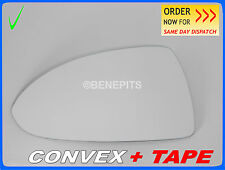 Wing Mirror Glass For VAUXHALL CORSA 2006-2014  CONVEX + TAPE Left  #F028 #26