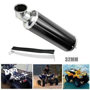 32MM Exhaust Pipe Muffler Silencer Slip On Type for Quad Dirt Bike ATV Off-road