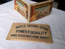 Maple Brand Needle Book (Made in Occupied Japan)
