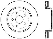 Disc Brake Rotor-SRT8 Rear Right Stoptech fits 2006 Jeep Grand Cherokee