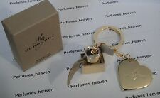Burberry Heart & Perfume Bottle Key Chain Burberry Authentic Keyring with Box